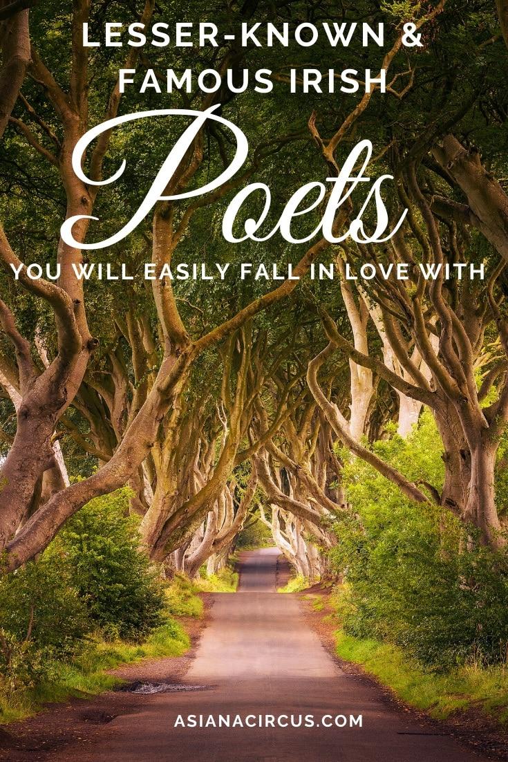 Famous Modern Irish Poets