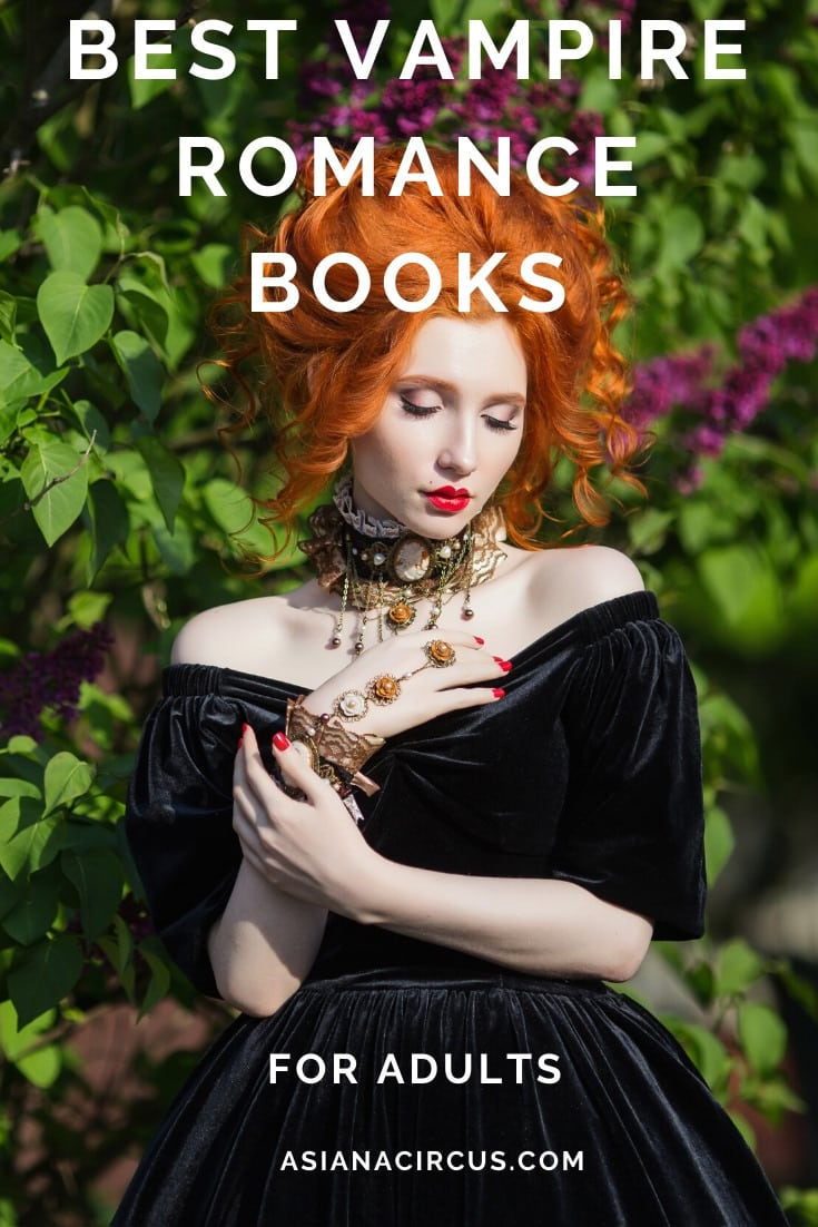 best vampire romance books for adults
