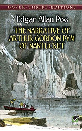 the narrative of arthur gordon pym of nantucket - books set on antarctica - antarctica novels