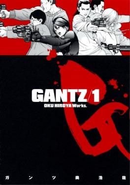 Gantz by Hiroya Oku Sci-fi Horror Manga Series