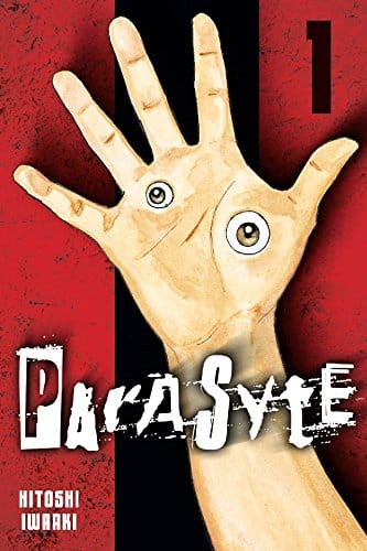 Parasyte by Hitoshi Iwaaki scary manga