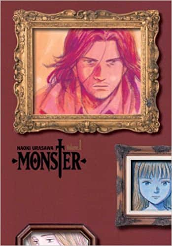 Scariest horror mangas for adults - Monster by Naoki Urasawa Crime Fiction, Mystery, Psychological thriller Manga