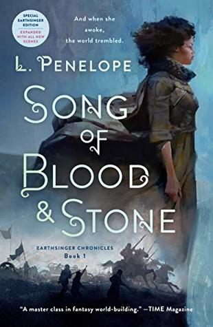 Song of Blood & Stone (Earthsinger Chronicles #1) by L. Penelope - fantasy books with black characters