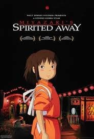 Spirited Away 2001 Animation, Fantasy best halloween family movies (Small)