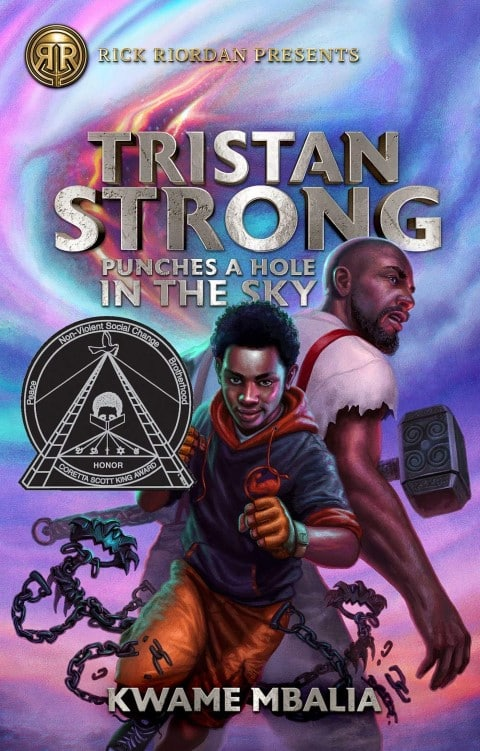 Tristan Strong Punches a Hole in the Sky (Tristan Strong #1) by Kwame Mbalia fantasy books with black characters (Small)