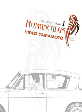 best psychological scary mangas for adults - Homunculus By Hideo Yamamoto Sci-Fi Psychological Mystery Horror Manga