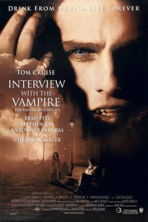 halloween horror movies - Interview with the Vampire horror, Romance
