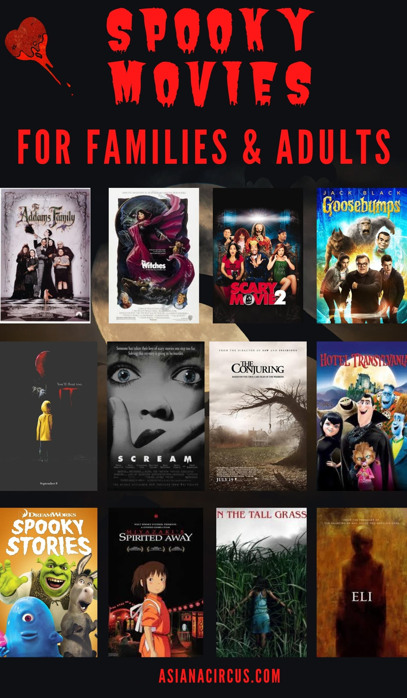 halloween horror movies for families and adults