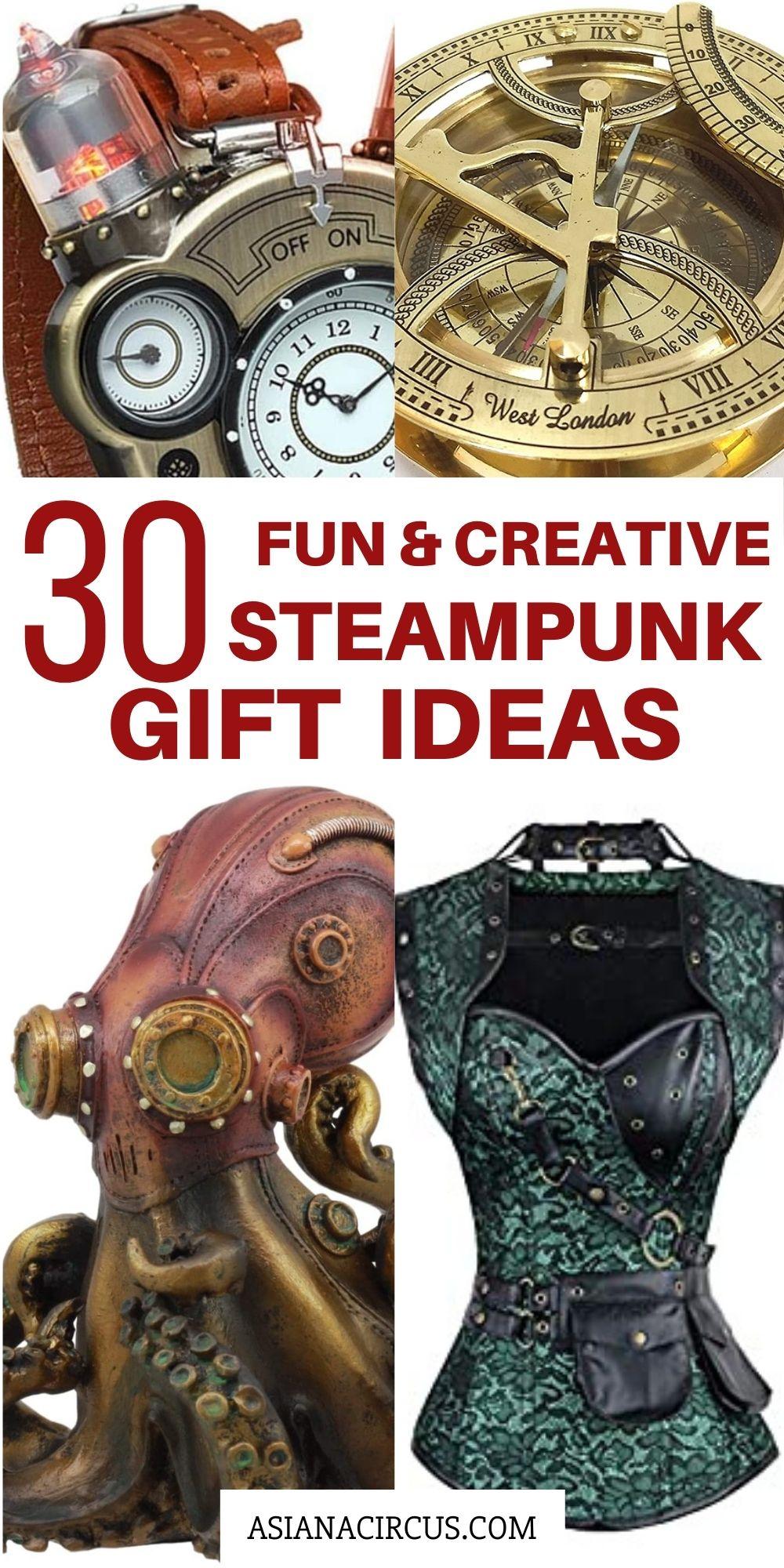 30 steampunk gift ideas