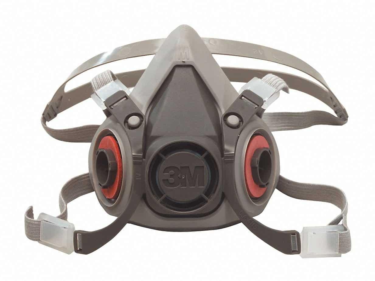 3M Safety 142-6100 6000 Series, Small Reusable Half Face Mask Respirator