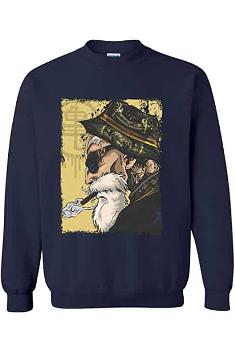 ALLNTRENDS Adult Sweatshirt Tatted Master Roshi Cool Top Trendy Sweatshirt