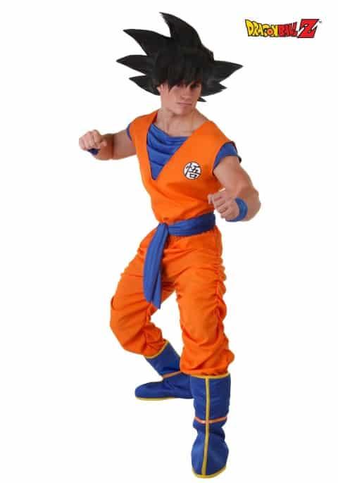 Adult Dragon Ball Z Costume Men's Goku Costume (Small)