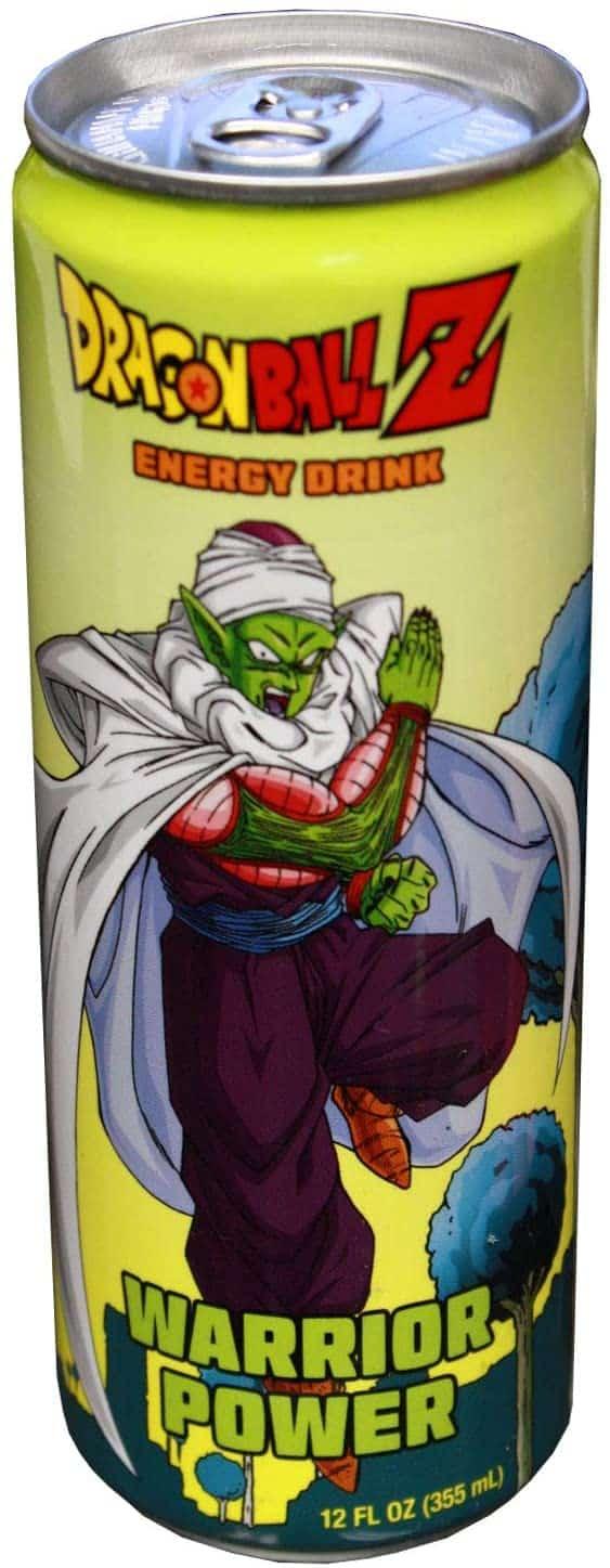 Boston America Dragonball Z Piccolo Warrior Power 12oz Energy Drink