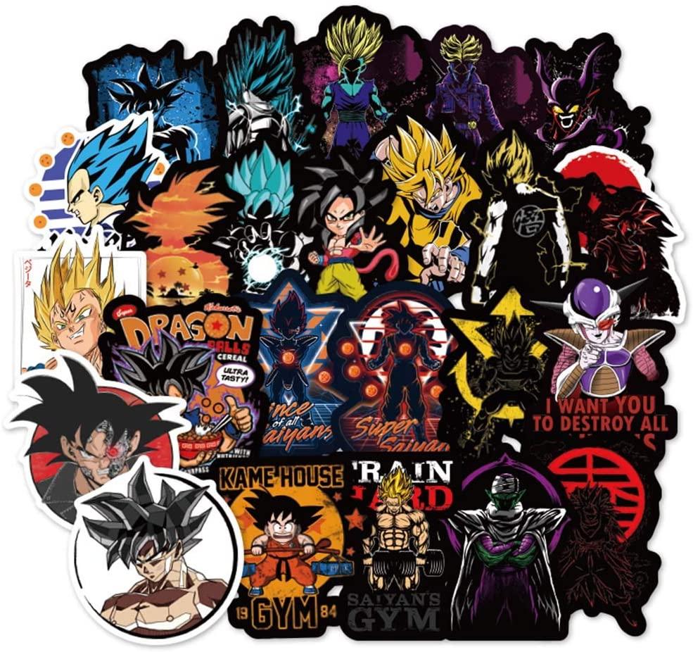 Dragon Ball Z Laptop Stickers