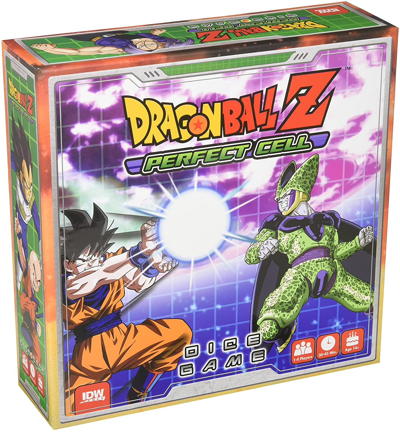 Dragon Ball Z Perfect Cell Collectible Dice Game Dice Game