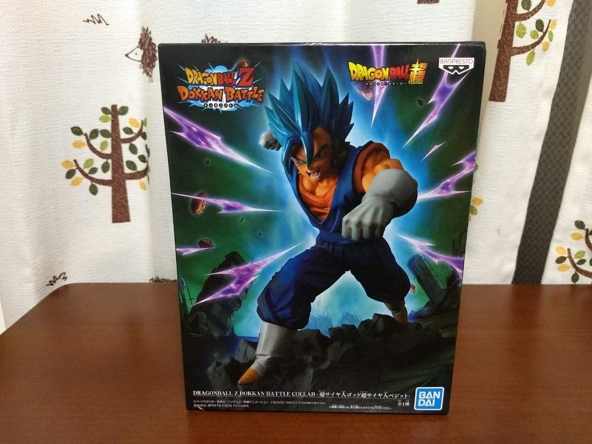 Dragonball Z Dokkan Battle Collab- Super Saiyan God Super Saiyan Vegetto