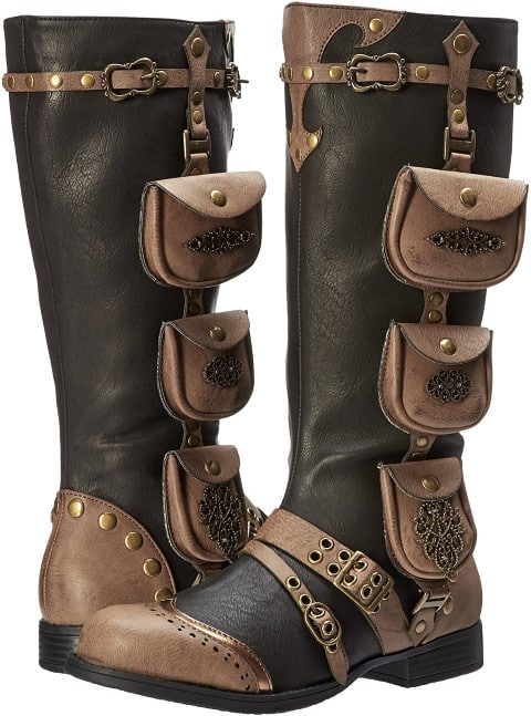 Ellie Shoes Women's 181-Silas Combat Boot (Small)