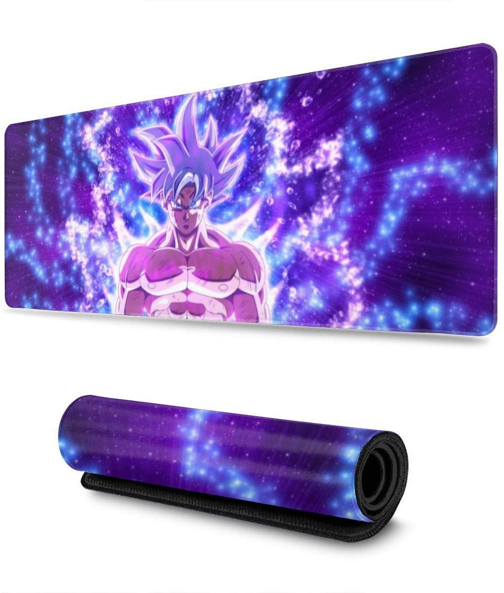 Extra Large Mouse Pad - Go-ku Desk Mousepad - dragon ball z gifts for him
