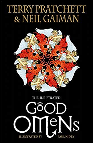 Good Omens by Neil Gaiman and Terry Pratchett - books about angels and demons