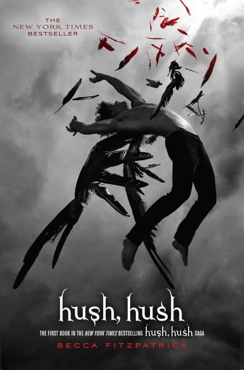 Hush, Hush by Becca Fitzpatrick books about angels and demons (Small)