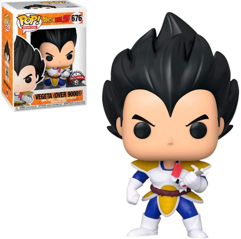 In search of Dragon Ball Z Vegeta gifts one of your options is this Funko Pop Vegeta.