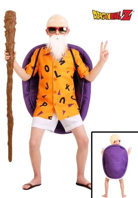 Kids Dragon Ball Z Master Roshi Costume (Small)