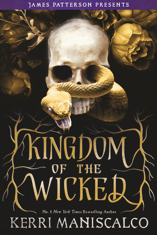Kingdom of the Wicked (Kingdom of the Wicked #1) by Kerri Maniscalco book cover best dark fantasy books for adults