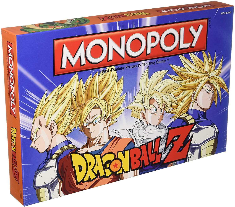 MONOPOLY Dragon Ball Z Board Game