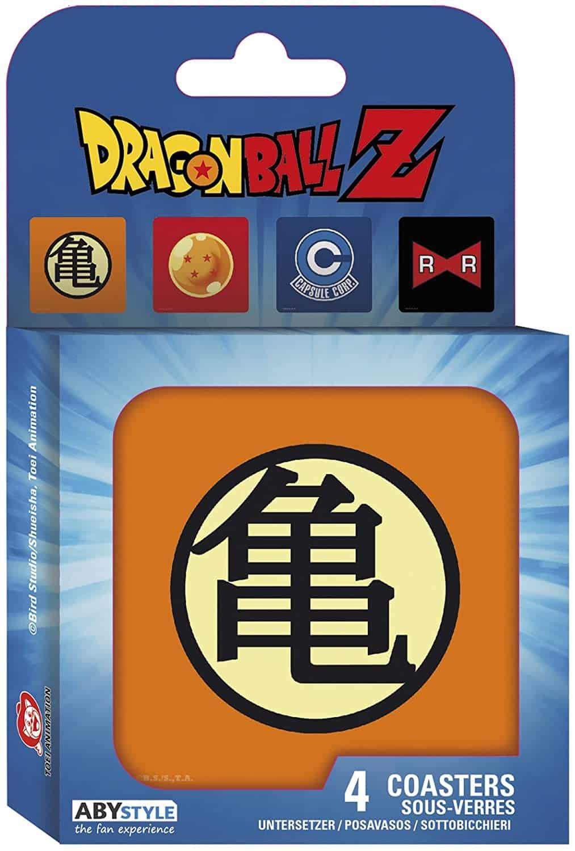 Marvel Dragon Ball Z themed coasters