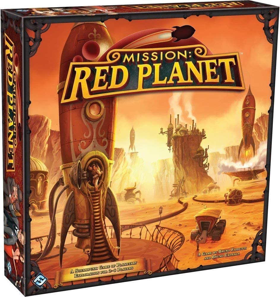 Mission Red Planet - steampunk board games