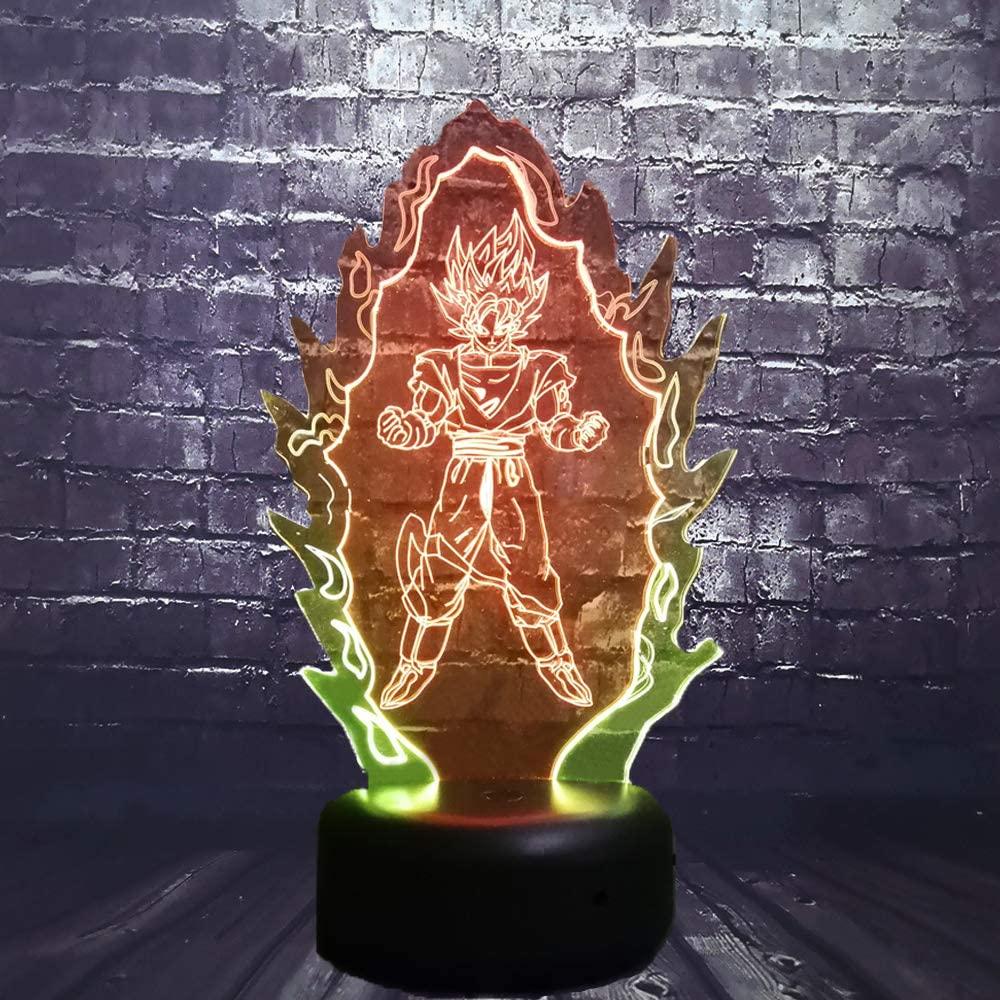Son Goku Night Light table lamp