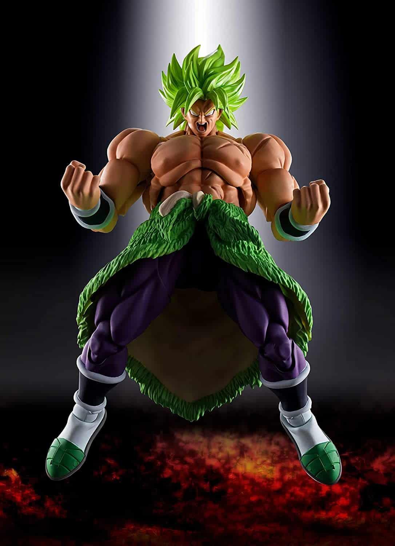 TAMASHII NATIONS Bandai S.H. Figuarts Super Saiyan Broly Full Power Dragon Ball Super Broly Action Figure