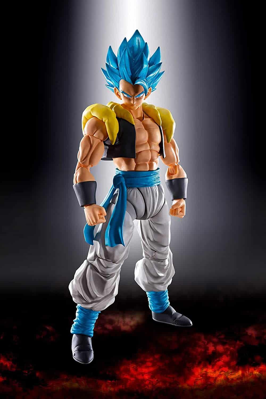 TAMASHII NATIONS Bandai S.H. Figuarts Super Saiyan God Super Saiyan Gogeta Dragon Ball Super Broly Action Figure