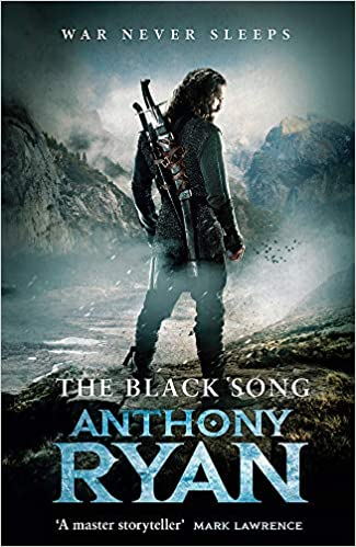The Black Song Book Two of Raven's Blade by Anthony Ryan dark high fantasy book cover