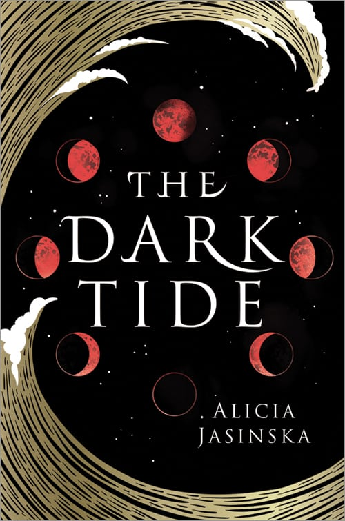 The Dark Tide by Alicia Jasinska lgbt young adult fantasy book cover