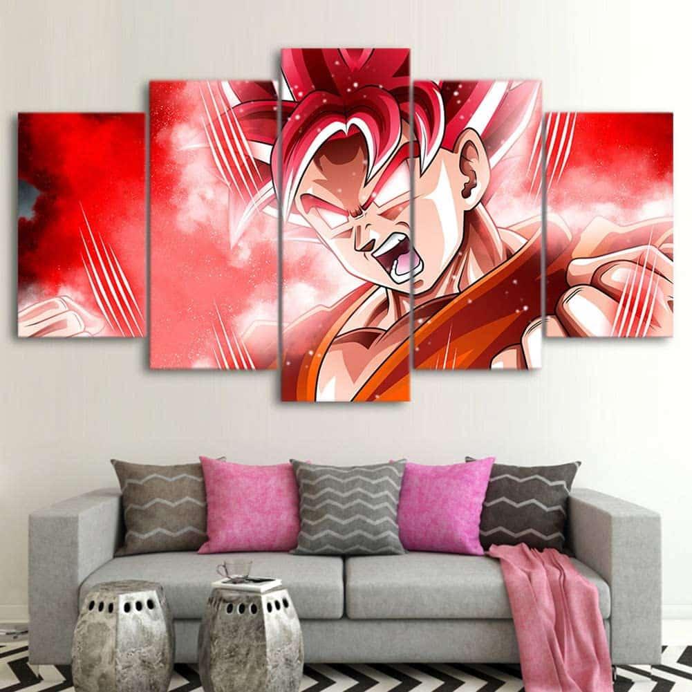Wall Art Paintings Dragonball Z Goku
