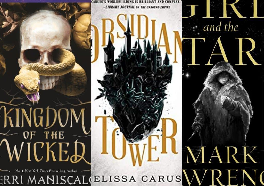 best new dark fatnasy books for adults and ya readers