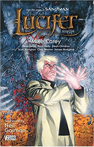 lucifer book one - books about angels
