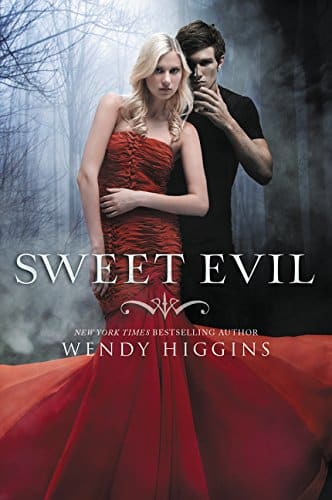 sweet evil by wendy higgins - books about angels and demons
