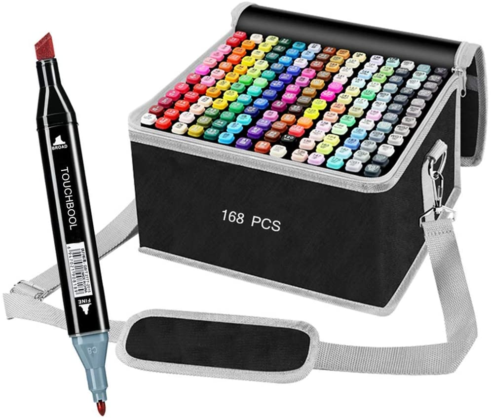 168 Colors Drawing Alcohol Art Markers