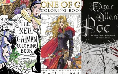 20 Best Literature Themed Coloring Books For Adults