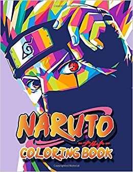 Naruto Coloring Book Coloring Book - anime coloring book for adults