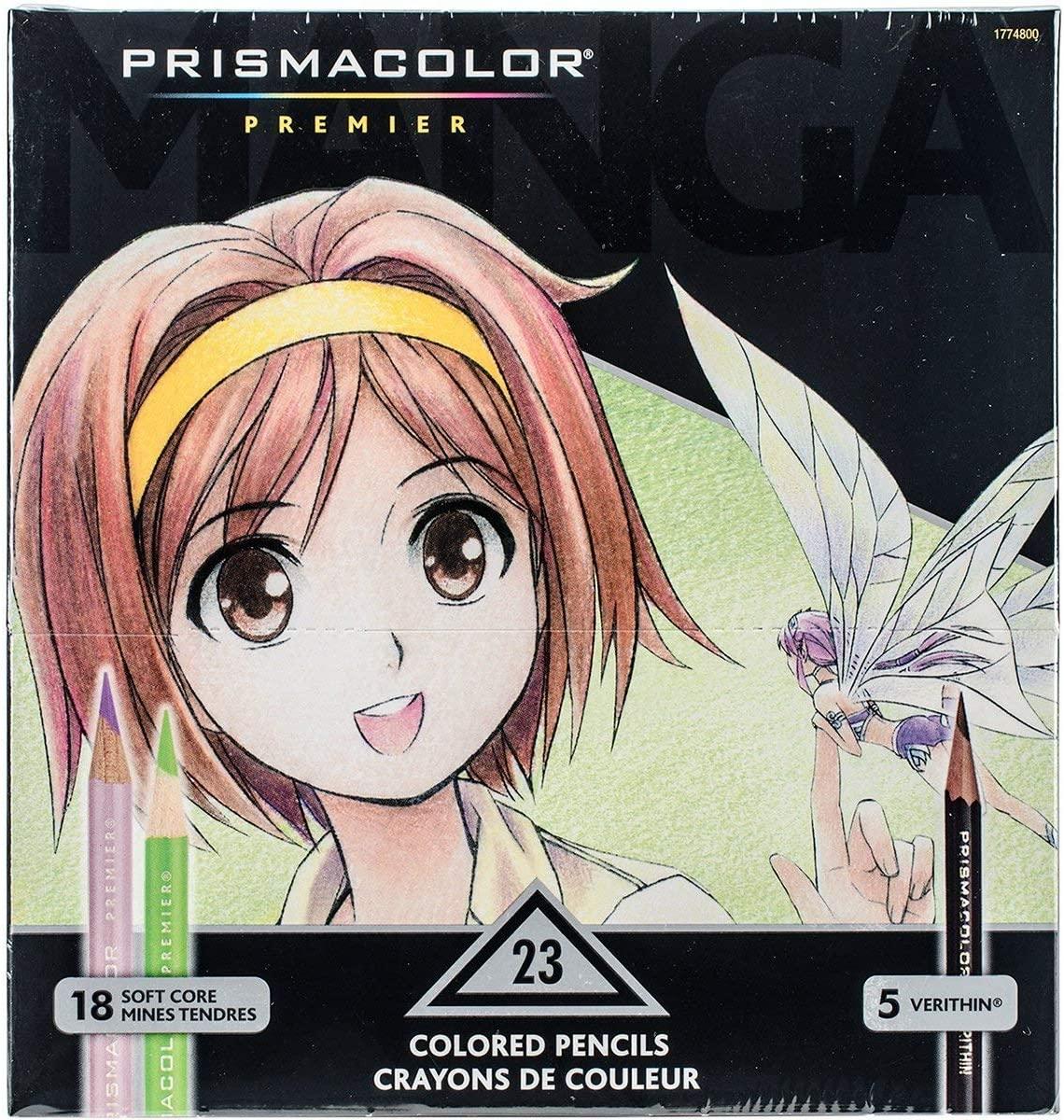 Premier Colored Pencils, Manga Coloring