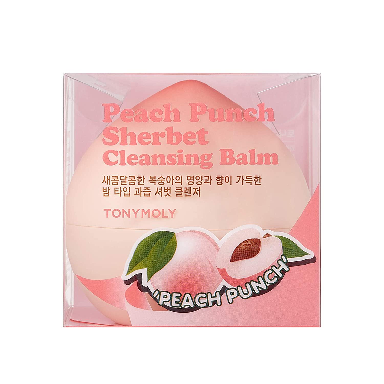 TONYMOLY Peach Punch Sherbet Cleansing Balm, 6.1 oz