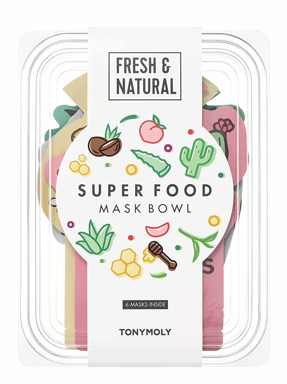 Tony Moly Face Mask - TONYMOLY Super Food Mask Bowl,