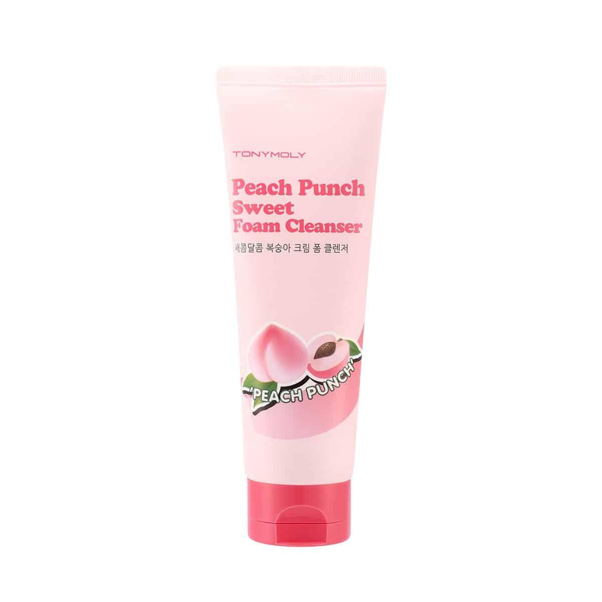 peach punch sweet foam cleanser tonymoly