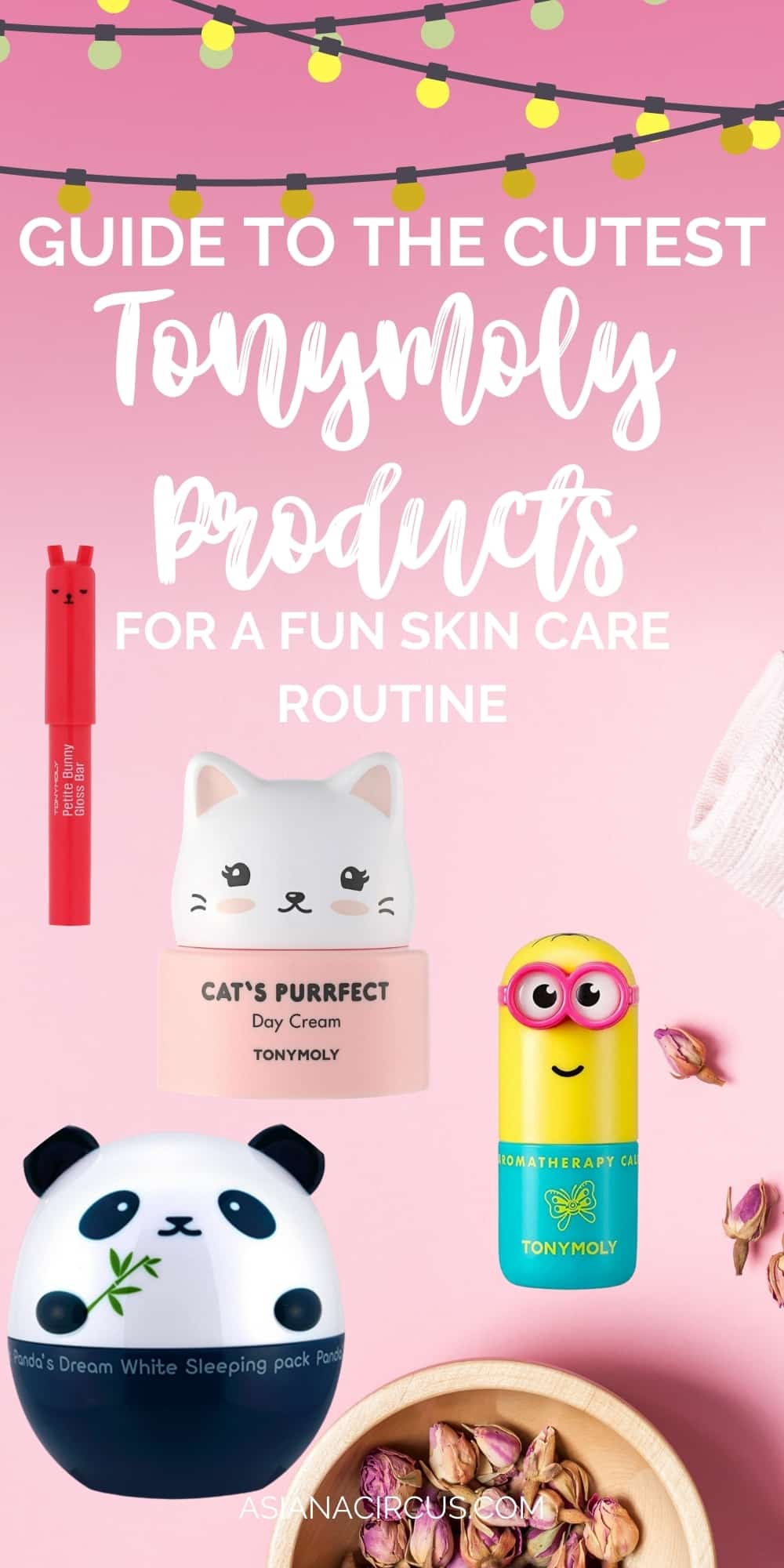 Guide to the cutest tony moly products