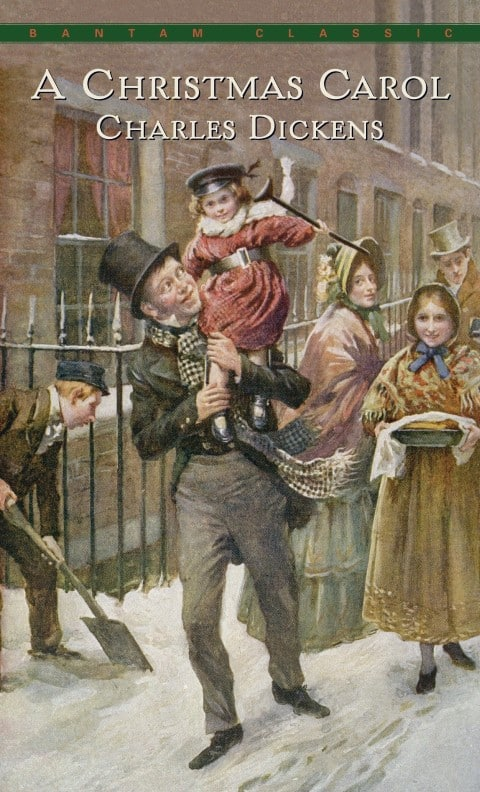 A Christmas Carol by Charles Dickens, Published December 19, 1843, Fairy tale, Ghost story, Victorian literature, (Small)