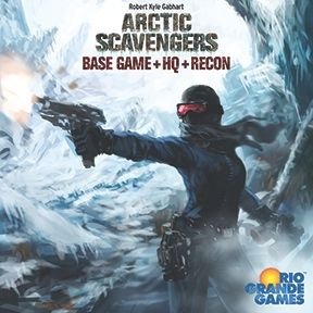 Arctic Scavengers - best winter themed board games for adudlts