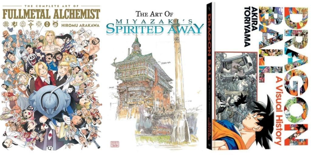 Guide to the Best Anime Art Books Ever
